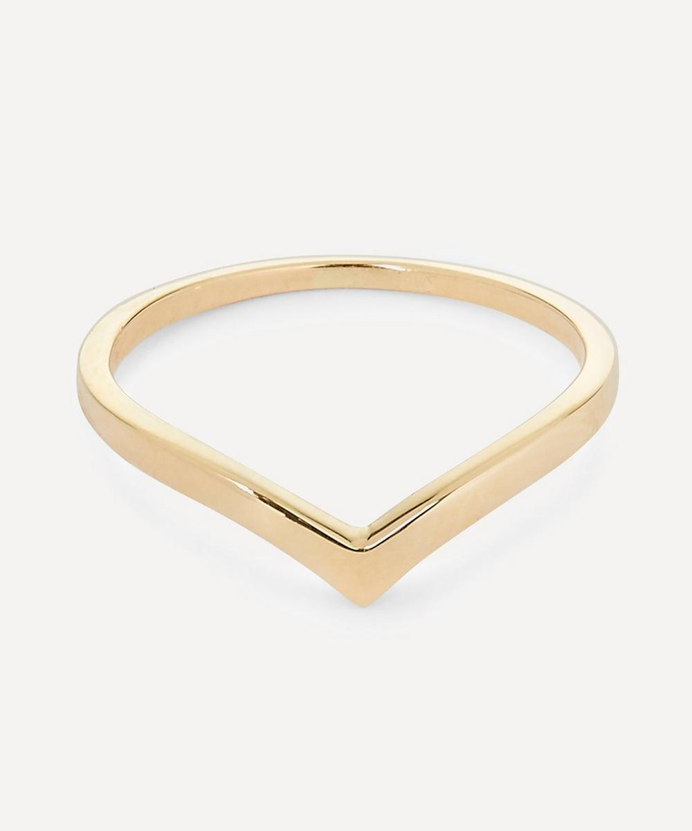 Anna Sheffield - Yellow Gold Orbit Ring