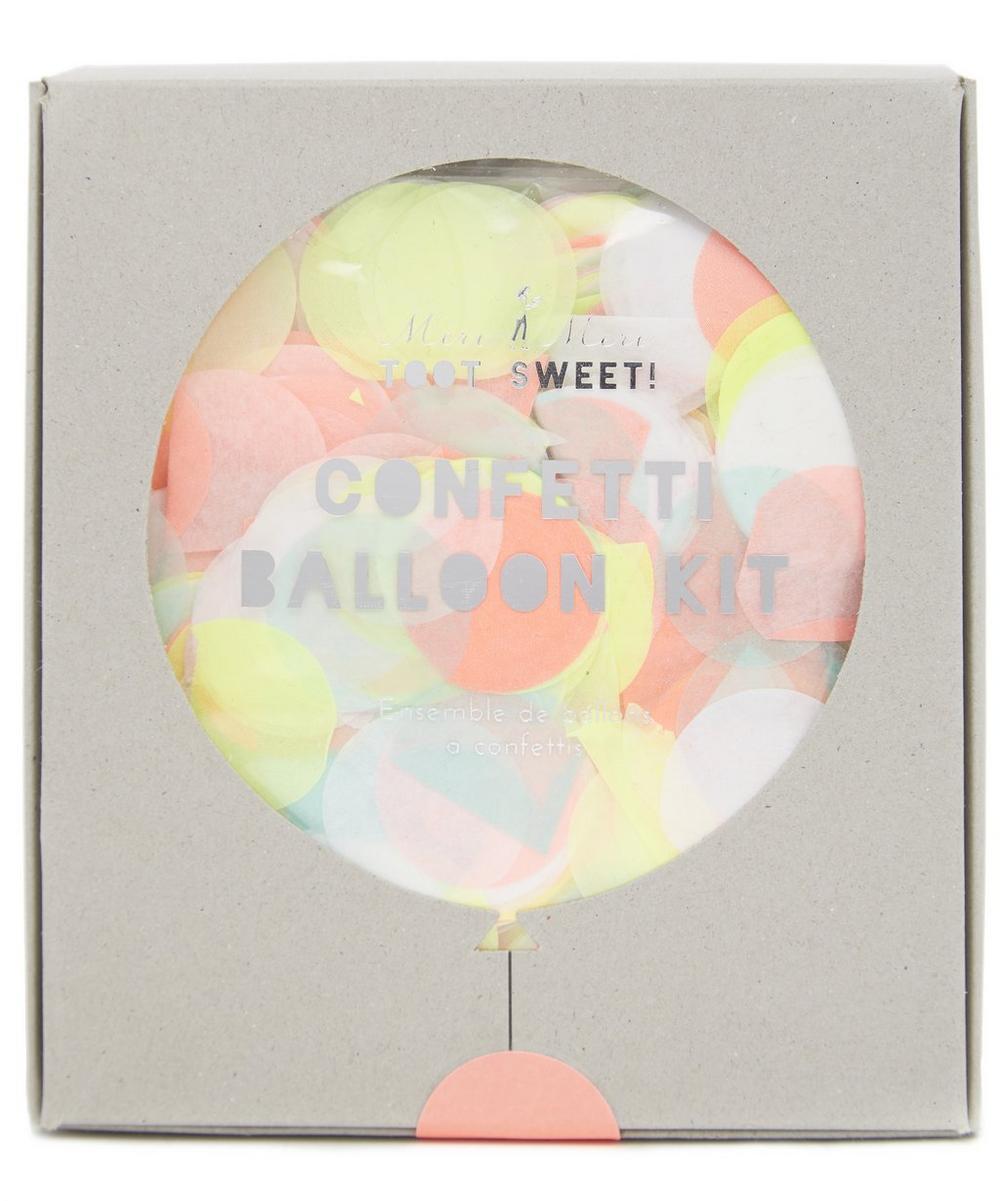 Meri Meri - Neon Confetti Balloon Kit