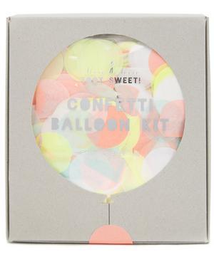 Neon Confetti Balloon Kit