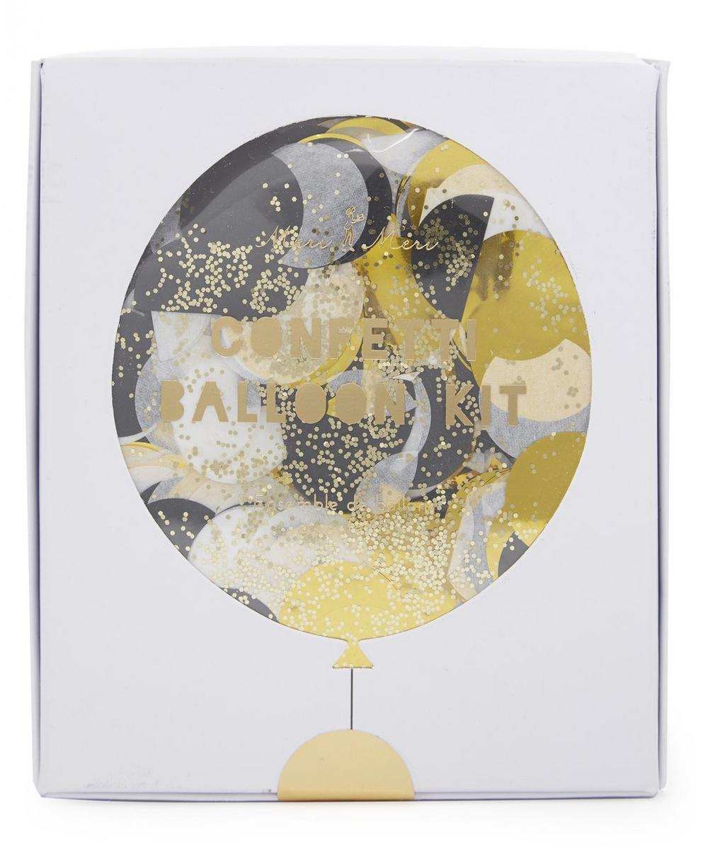 Meri Meri - Metallic Confetti Balloon Kit