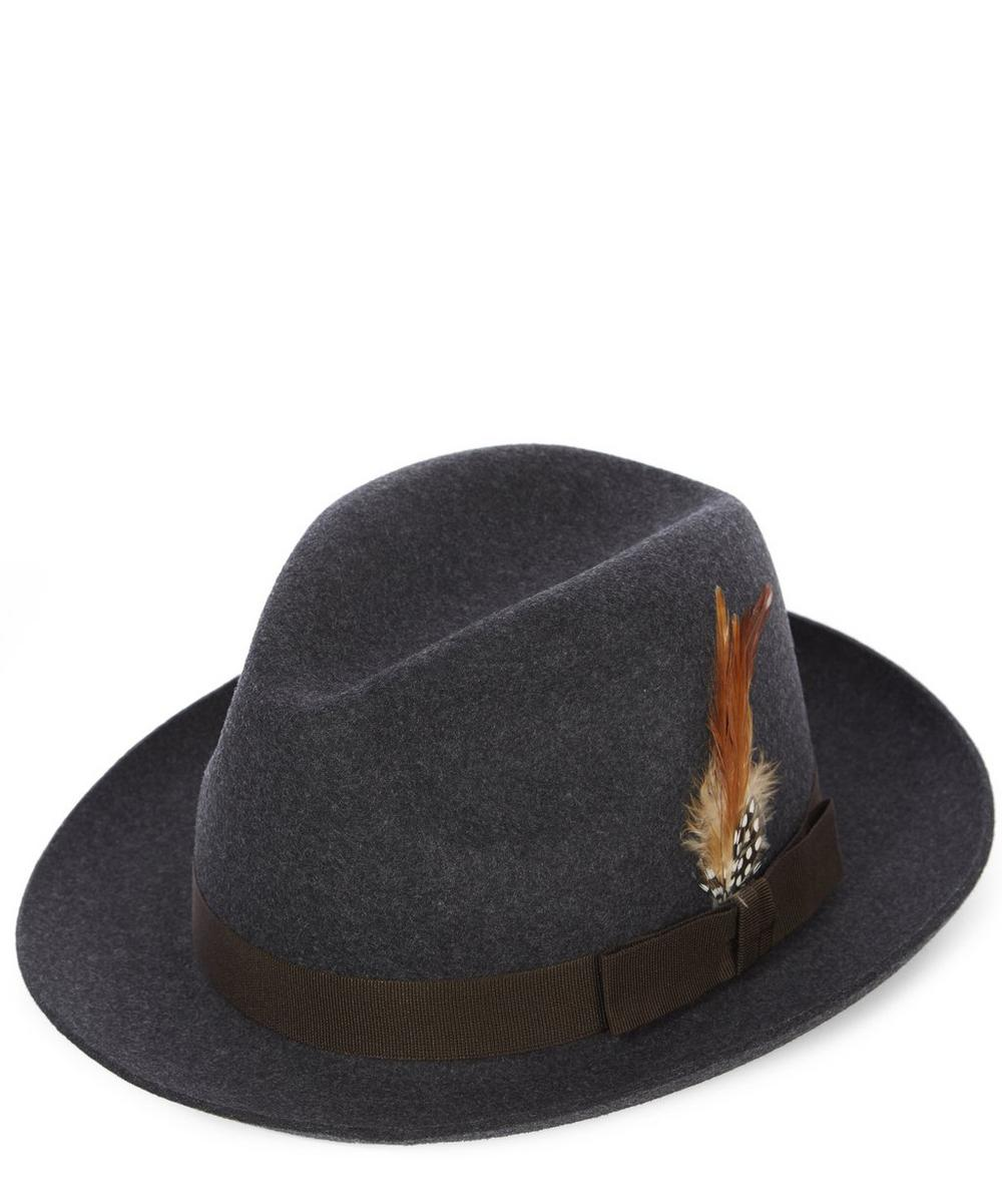Christys' - Barbican Fedora Hat