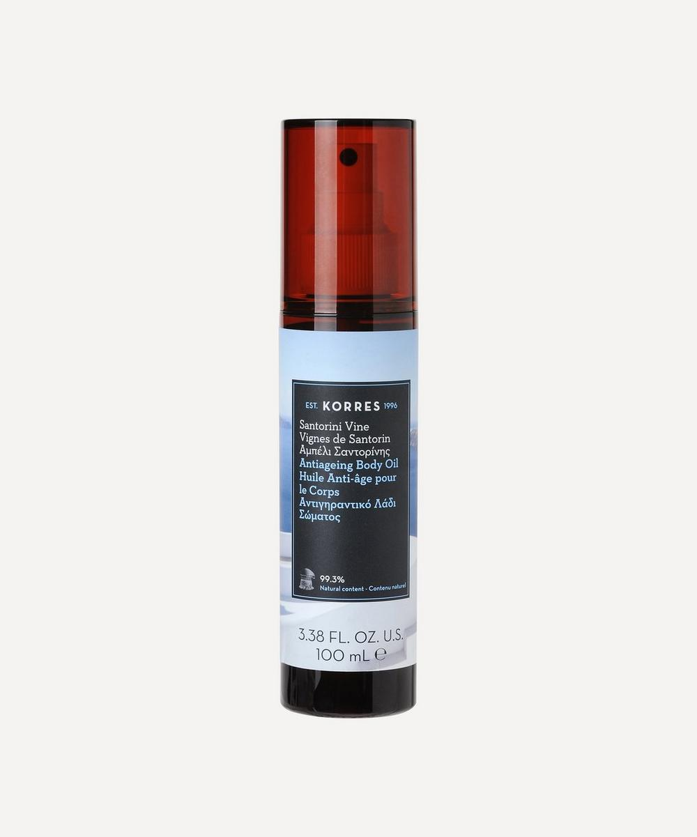 Korres - Santorini Vine Anti-Ageing Body Oil 100ml