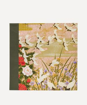 Green Cranes Sougara Paper Photo Album