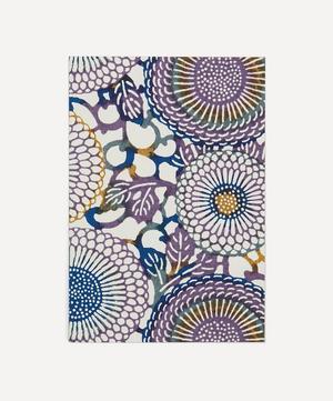 Screen-Printed Chrysanthemum Greeting Card