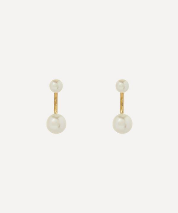 Satomi Kawakita - Twin Pearl Stud Earrings