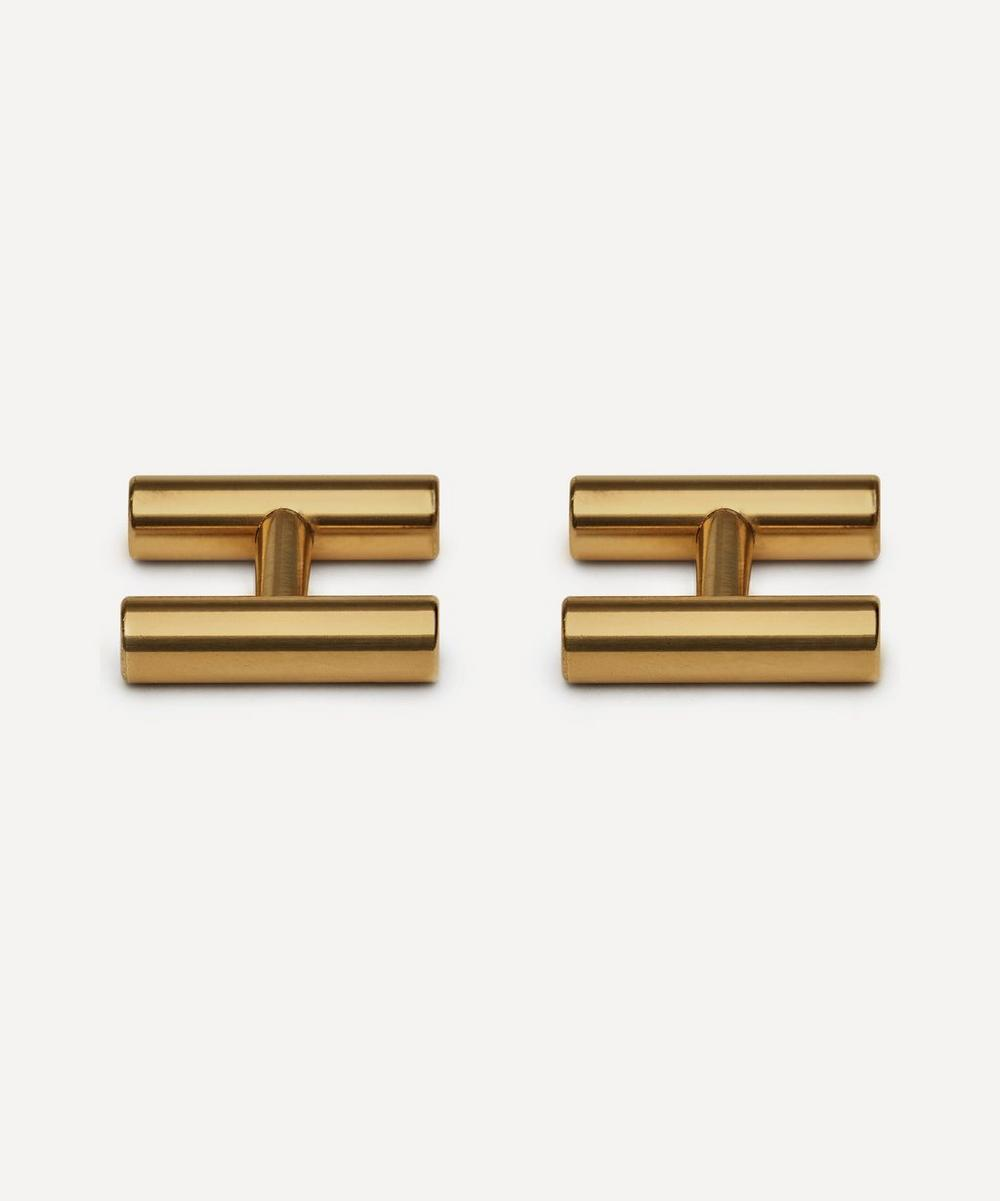 Alice Made This - Kitson Brass Cufflinks