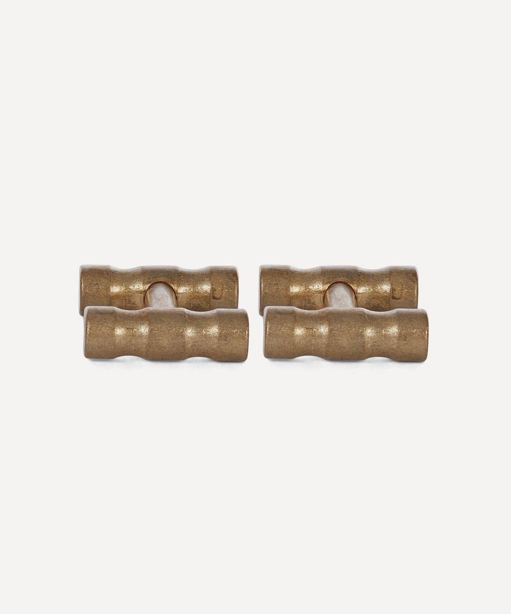 Alice Made This - Lapworth Brass Cufflinks