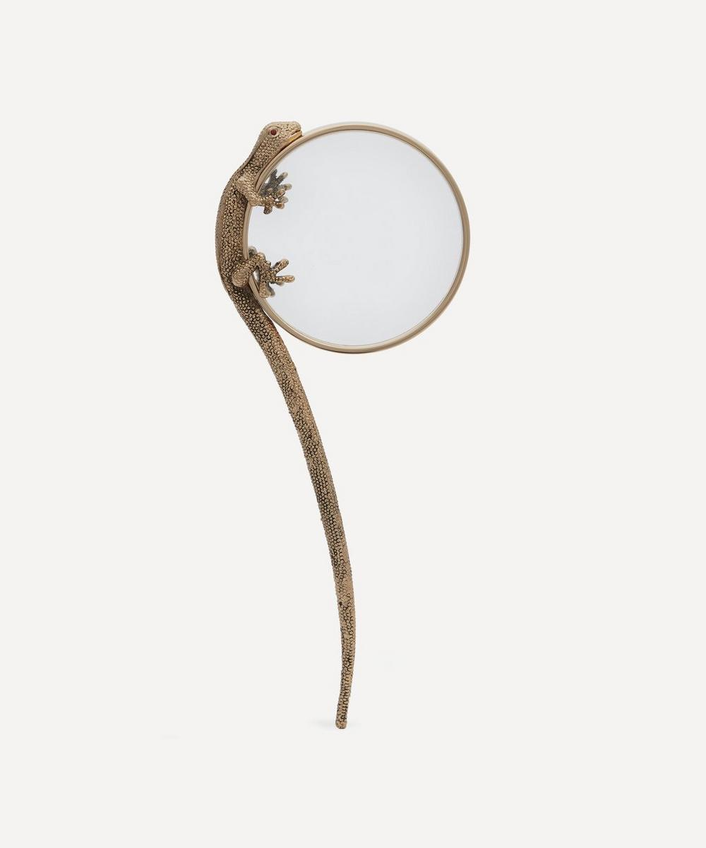 L'Objet - Gold-Plated Gecko Magnifying Glass