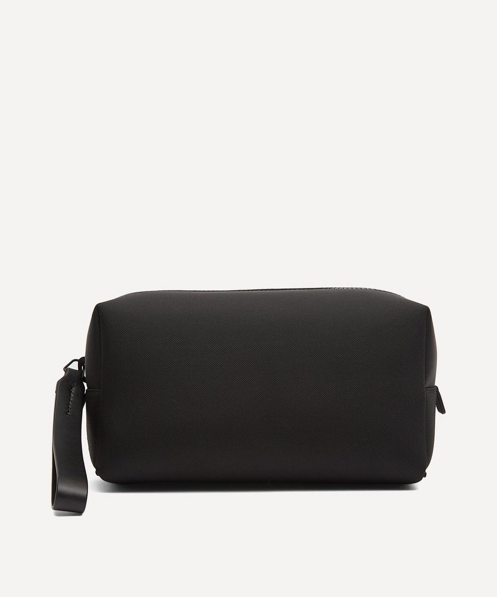 Troubadour - Fabric and Leather Wash Bag