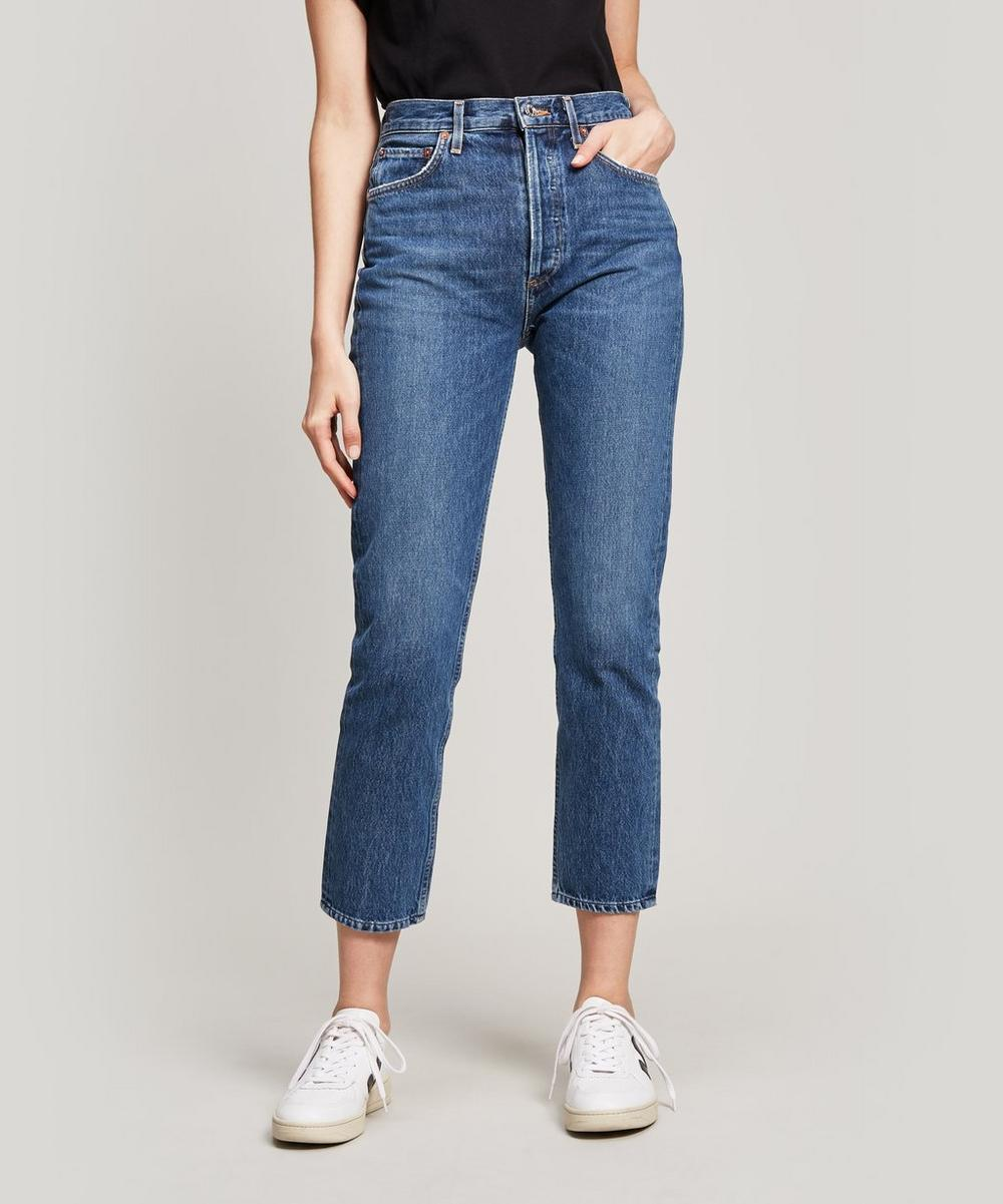 AGOLDE - Riley Cropped Jeans