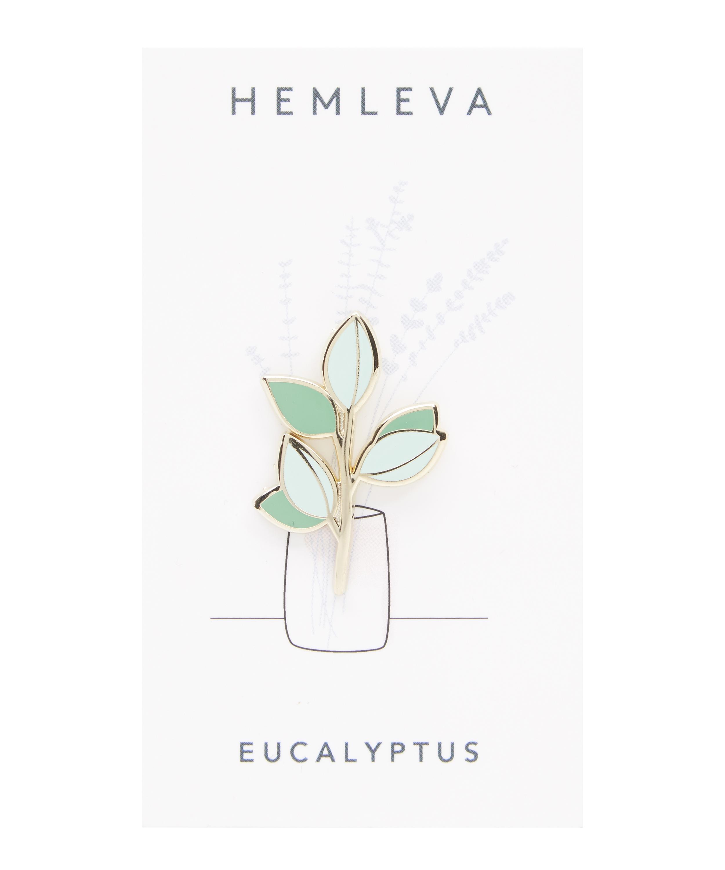 Eucalyptus Soft Enamel Pin