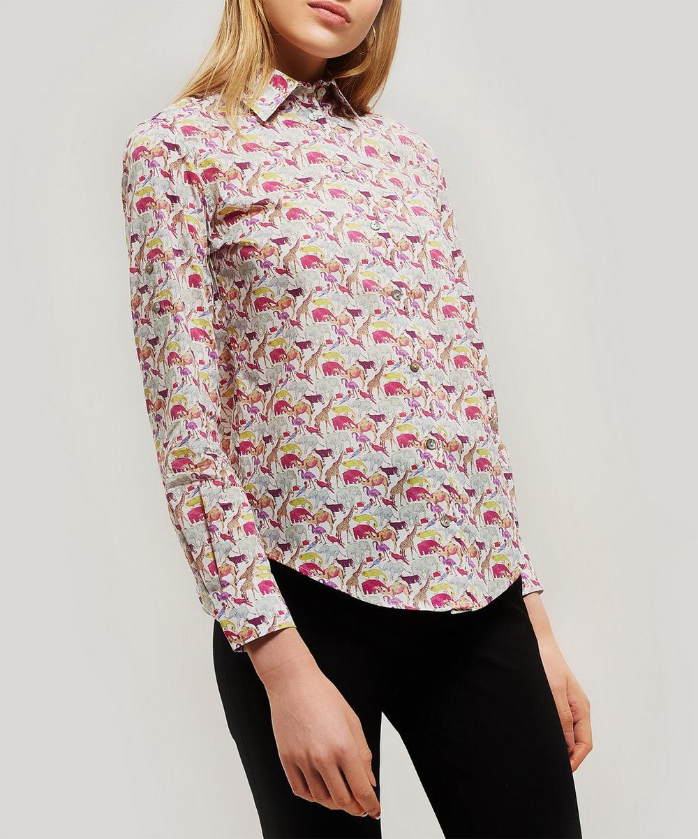 Liberty - Queue For The Zoo Tana Lawn™ Cotton Bryony Shirt