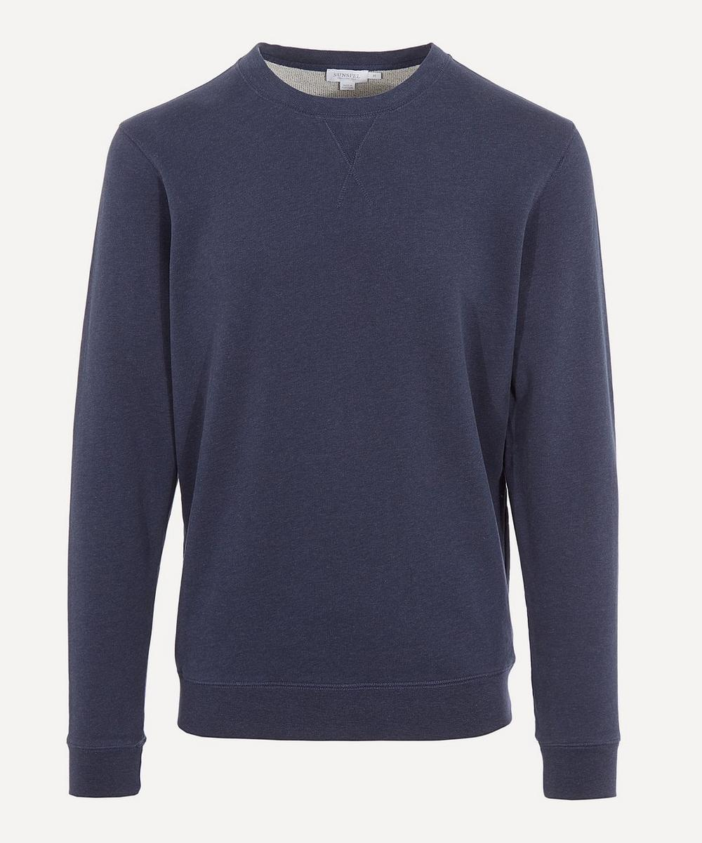 Sunspel - Long Sleeve Cotton Sweatshirt
