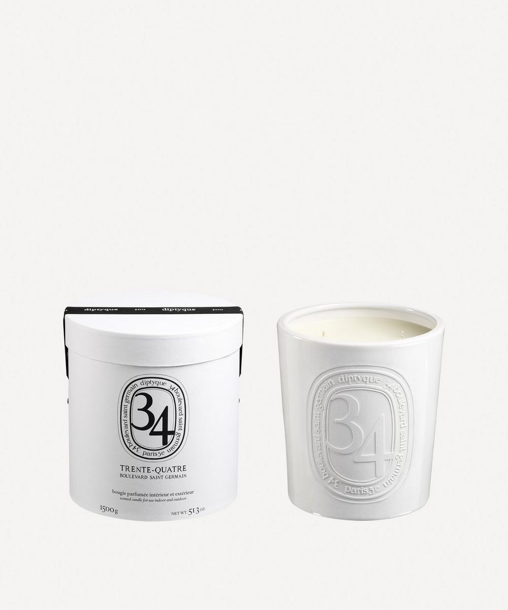 Diptyque - 34 Indoor & Outdoor Scented Candle 1500g
