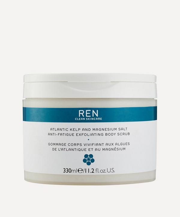 REN Clean Skincare - Atlantic Kelp and Magnesium Salt Anti-Fatigue Exfoliating Body Scrub 330ml