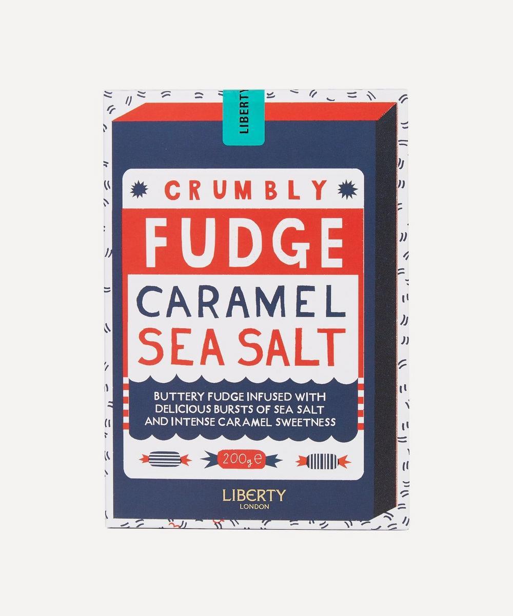 Liberty - Caramel Sea Salt Crumbly Fudge 200g