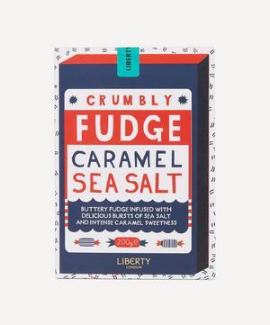 Caramel Sea Salt Crumbly Fudge 200g
