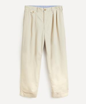 Exclusive Pleated Chino Trousers