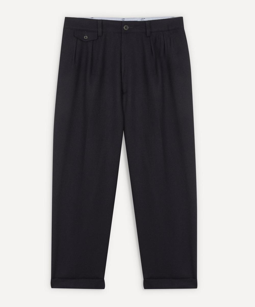 Beams Plus - 2 Pleats Flannel Trousers
