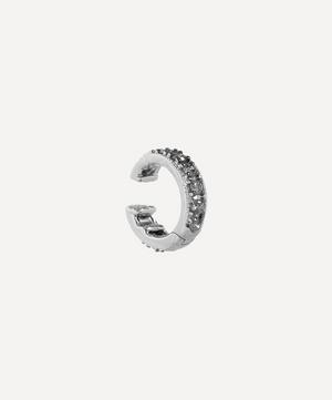 18ct White Gold Dusty Diamonds Hinged Ear Cuff