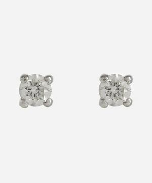 White Gold 0.20ct Diamond Stud Earrings