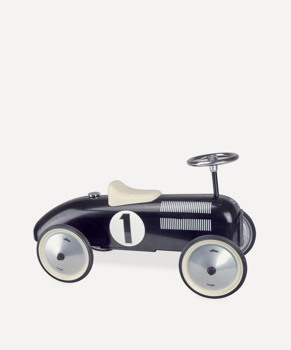 Vilac - Black Vintage Ride-On Car