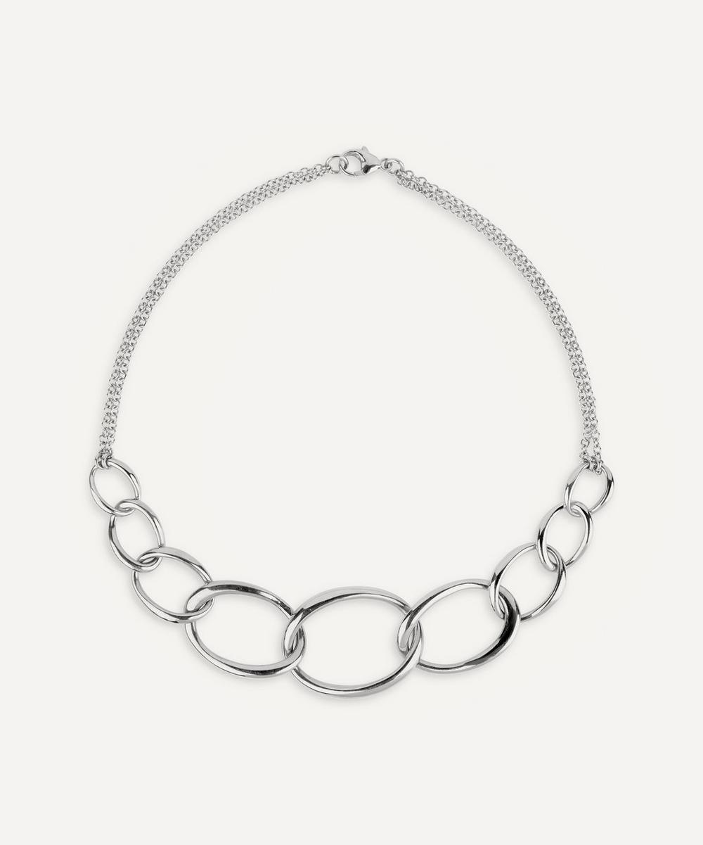 Dinny Hall - Silver Wave Chain Necklace