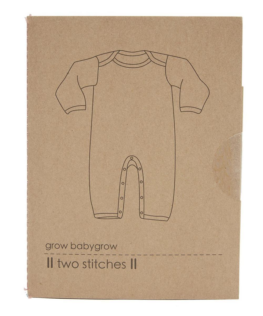 Two Stitches - Grow Babygrow Pattern