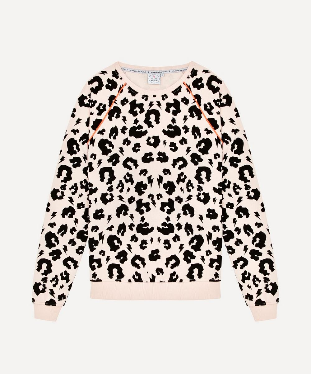 Scamp & Dude - Adult Leopard Print Sweatshirt XS-XL