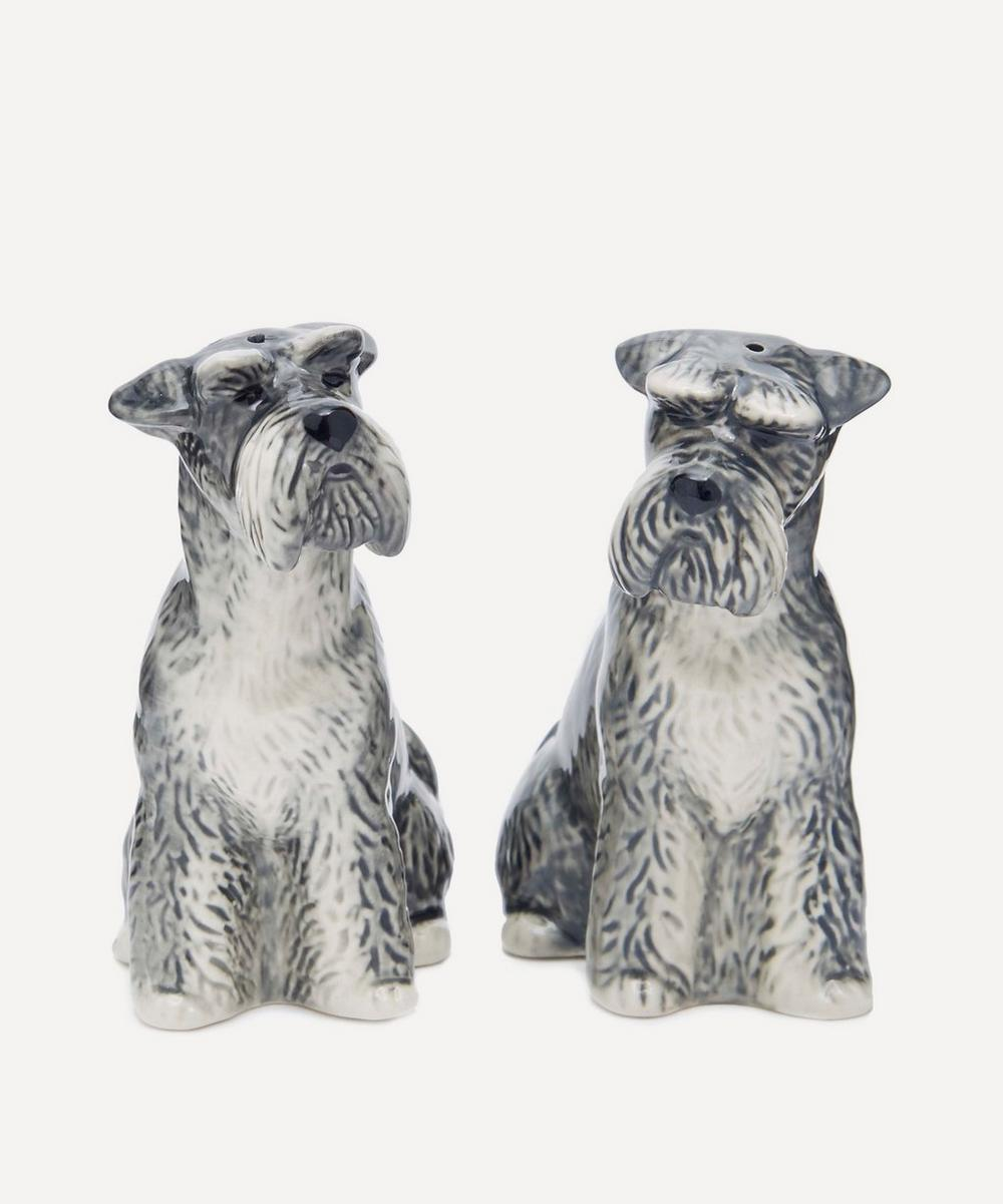 Quail - Schnauzer Salt and Pepper Shakers