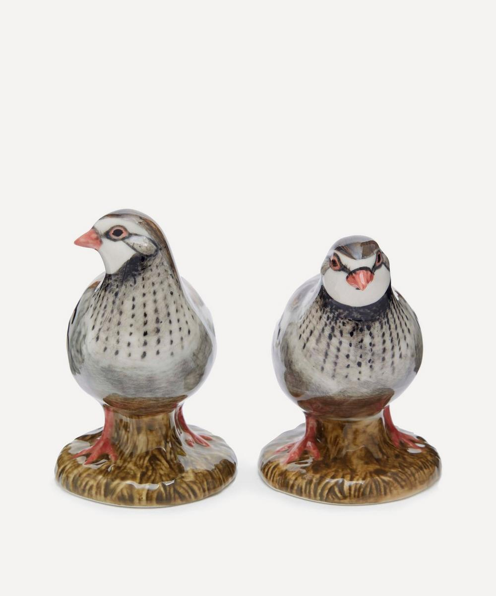Quail - Partridge Salt and Pepper Shakers