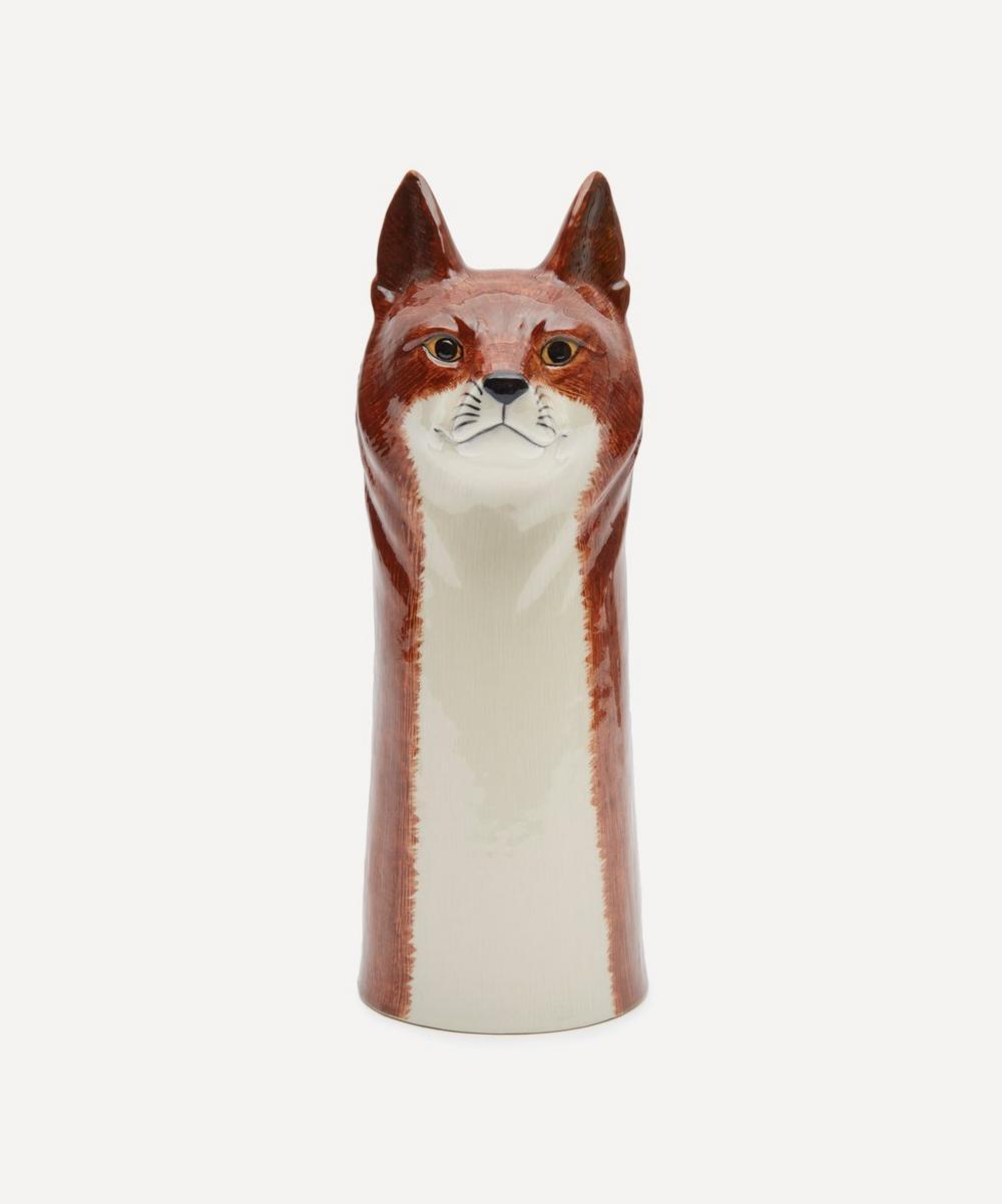 Quail - Large Fox Vase