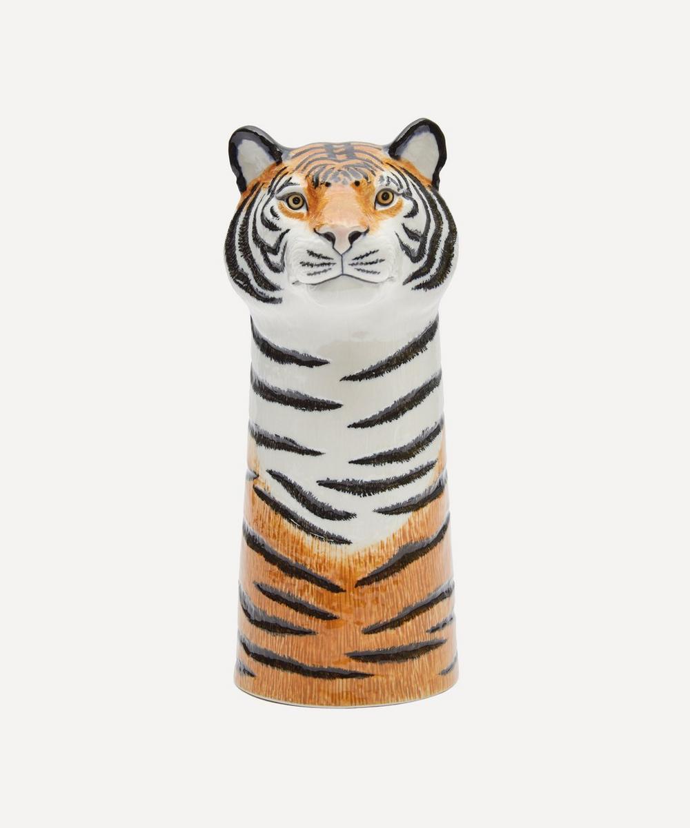 Quail - Large Tiger Vase