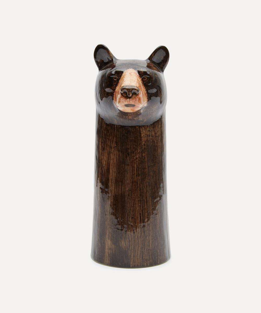 Quail - Large Bear Vase