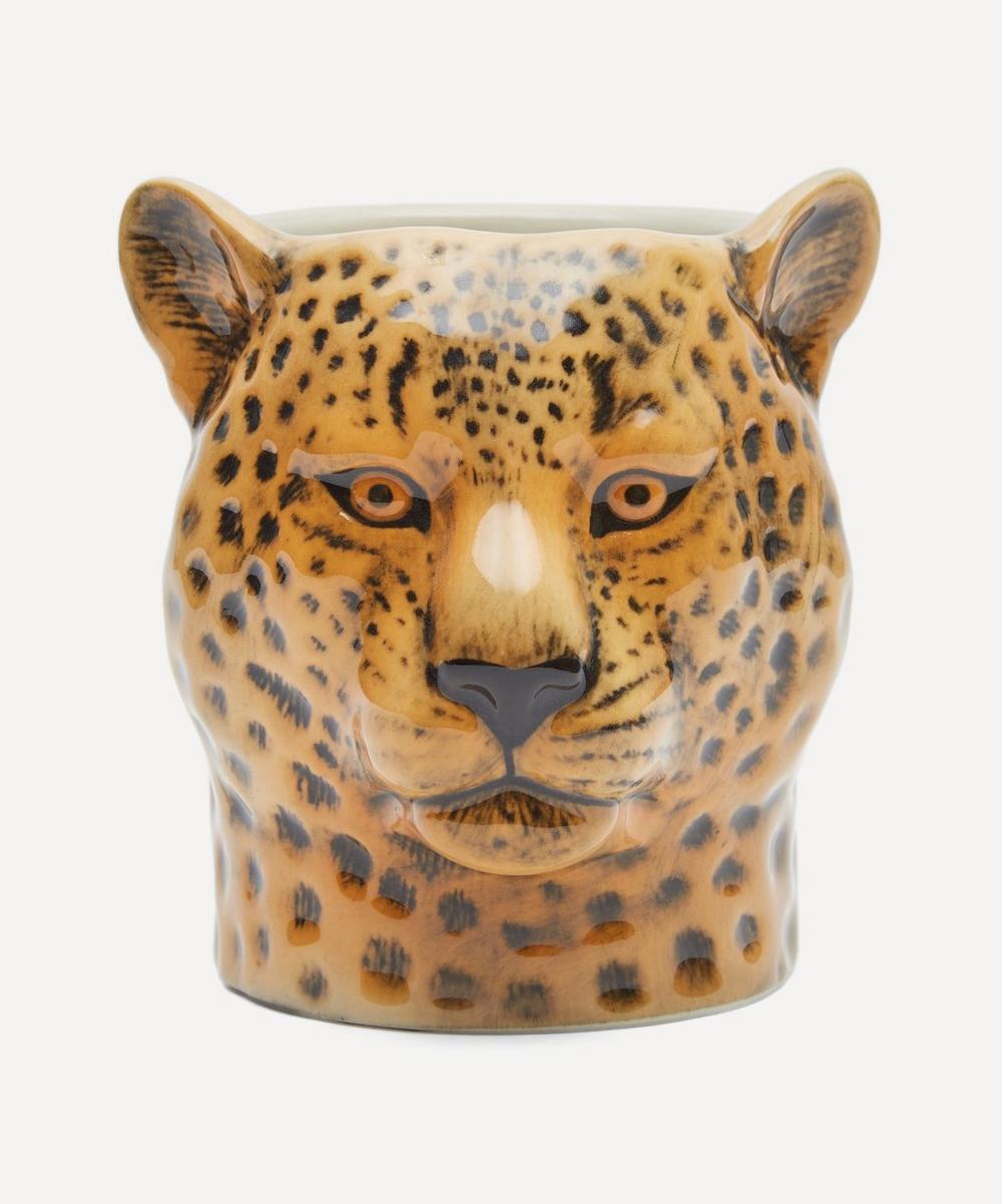 Quail - Leopard Pencil Pot