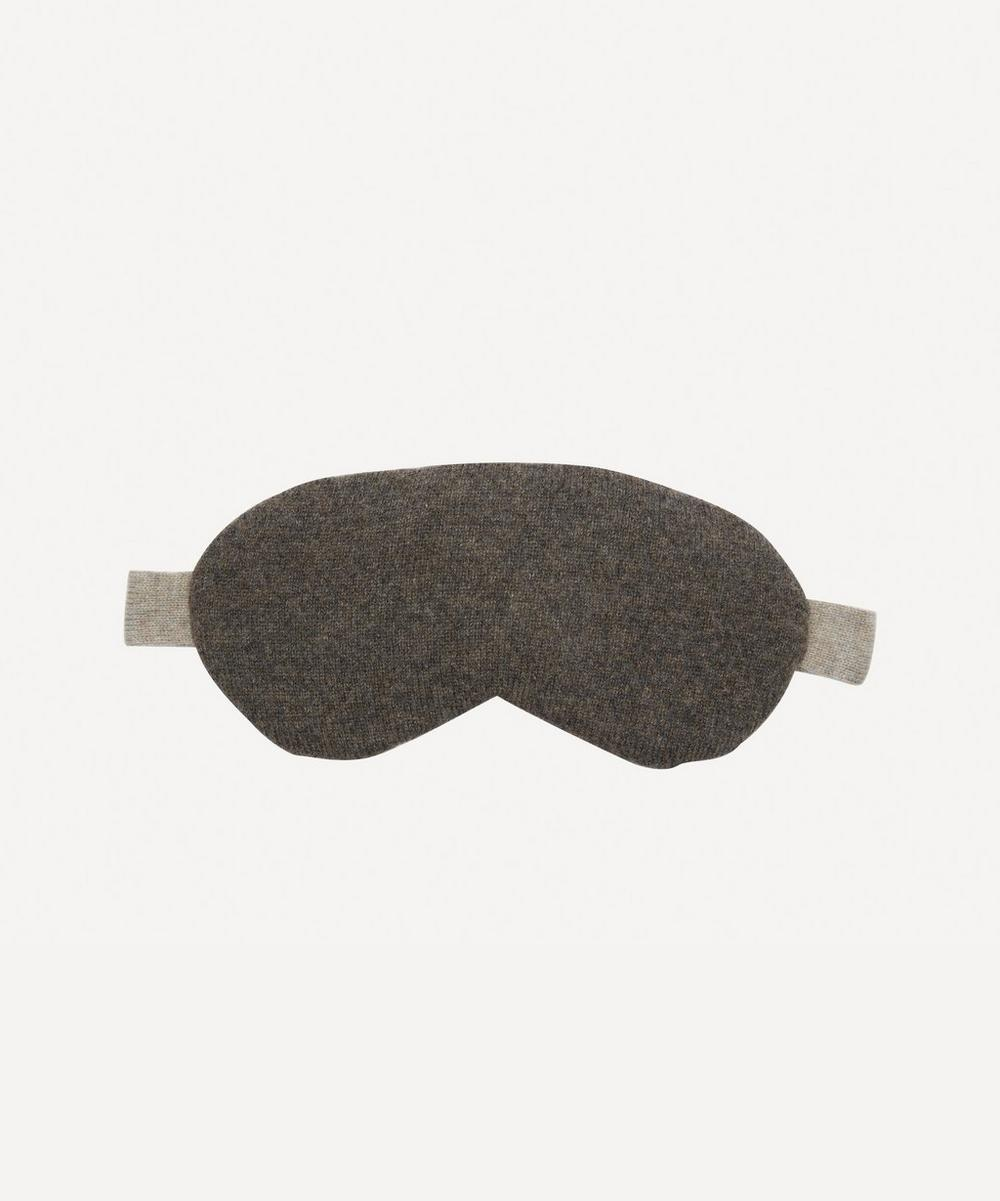 Row Pinto - Ptarmigan Knitted Cashmere Liberty Print Eye Mask