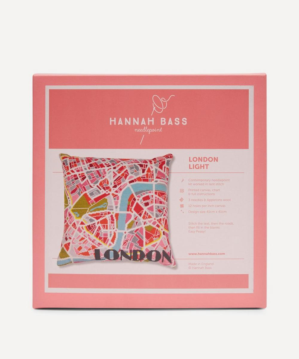 Hannah Bass - London Light Map Needlepoint Kit