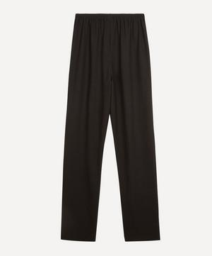 Narrow Stretch-Wool Trousers