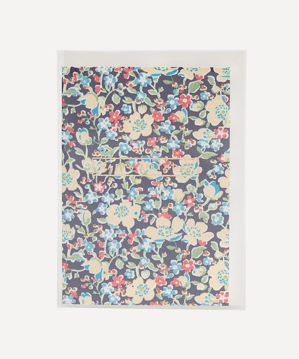 Liberty - John Cotton-Covered Happy Birthday Card