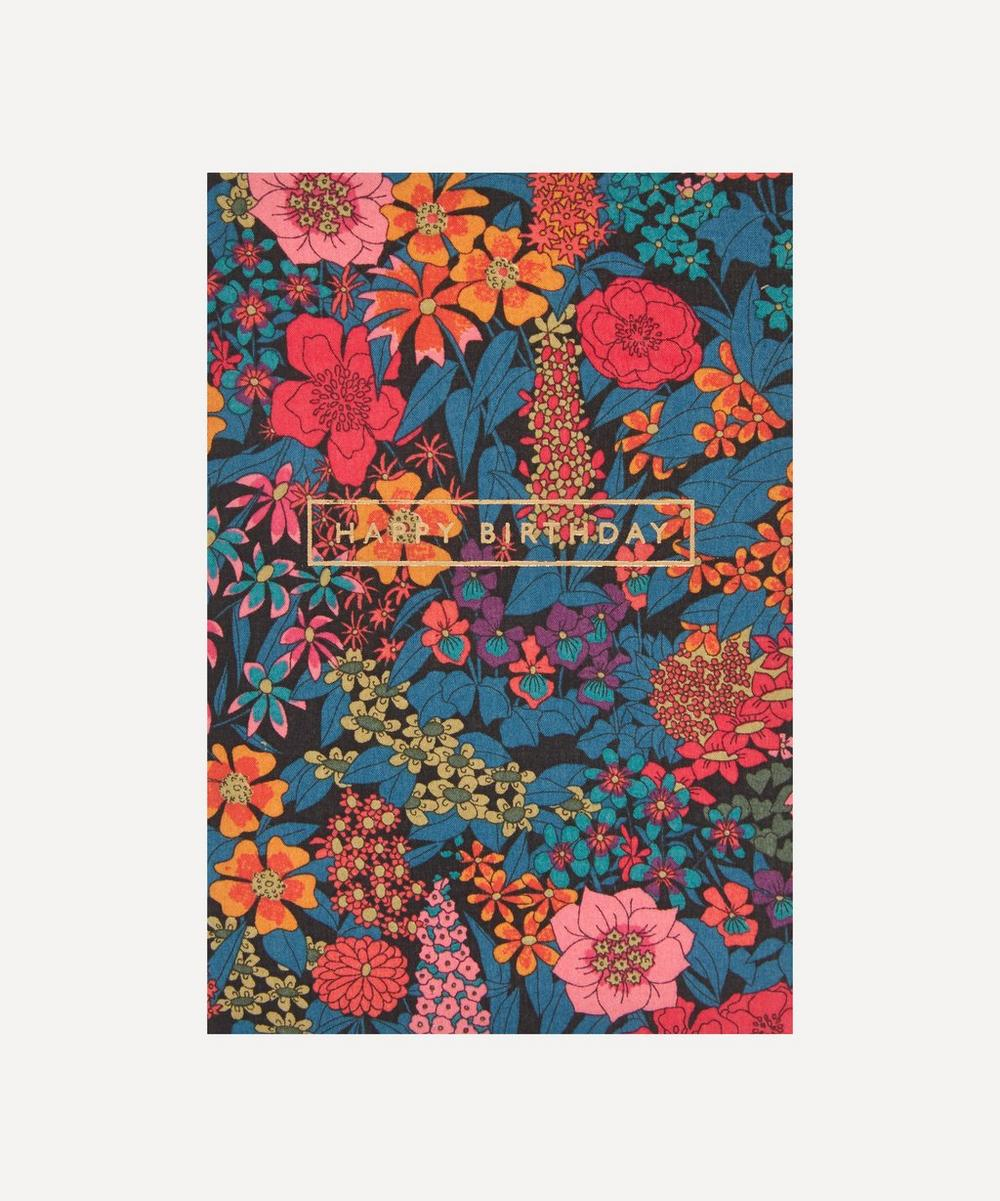 Liberty - Ciara Cotton-Covered Happy Birthday Card