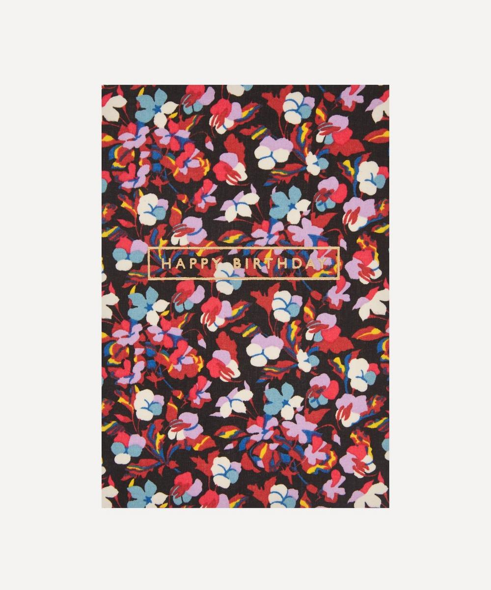Liberty - Sarah Cotton-Covered Happy Birthday Card