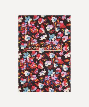 Sarah Cotton-Covered Happy Birthday Card