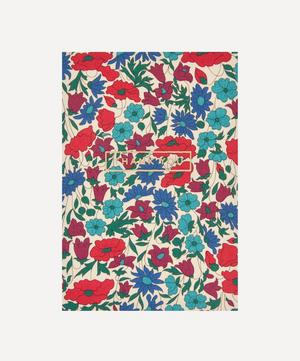 Poppy Daisy Cotton-Covered Thank You Card