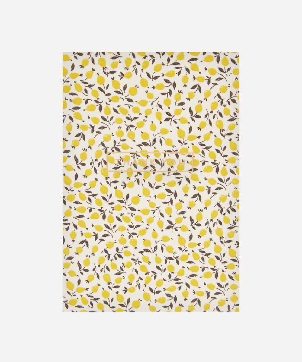 Liberty - Ed Cotton-Covered Thank You Card