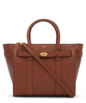 Bayswater Small Zipped Leather Handbag