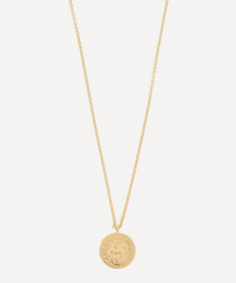 Tom Wood - Gold-Plated Coin Pendant