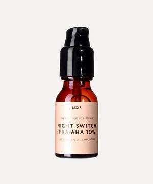 Night Switch PHA/AHA 10% 15ml Serum