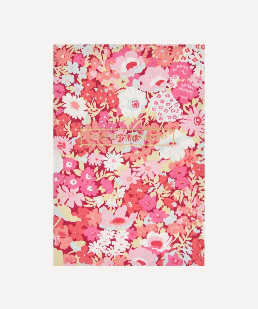 Liberty - You're Engaged Thorpe Cotton-Covered Card