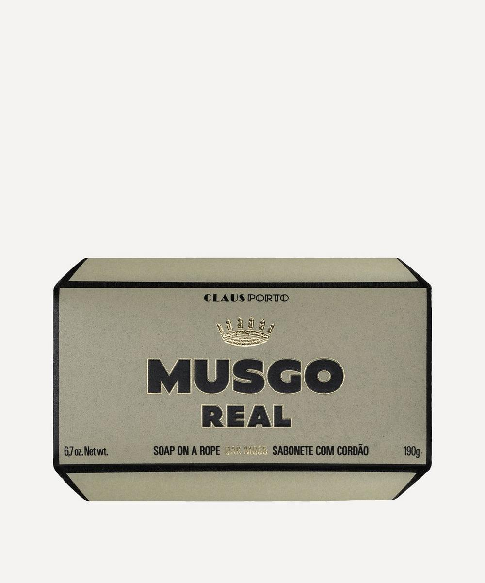 Claus Porto - Musgo Real Oak Moss Soap On A Rope 190g