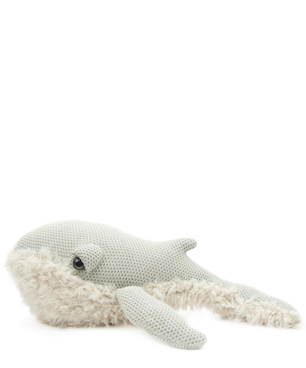 Big Stuffed - Small Grandma Whale Toy